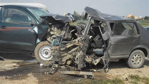 وفاة 8 أشخاص من أسرة واحدة وإصابة آخر في حادث مروع بإب..(أسماء)