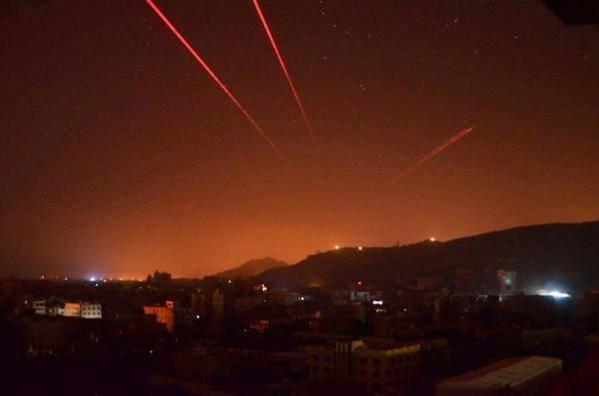 طائرات العدوان على اليمن تعاود قصف صنعاء رداً على ضرب المواقع السعودية
