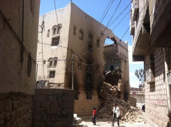قصف هستيري حوثي يطال المدنيين في البيضاء