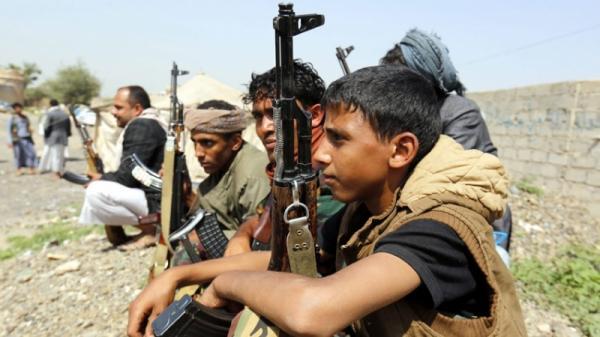 مقتل أربعة وإصابة آخرين من مسلحي الحوثي في الضالع جراء تفجير أحدهم قنبلة يدوية