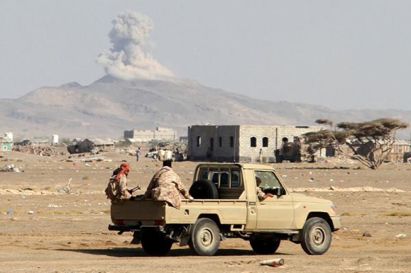 تدمير غرفة اتصالات متطورة ومخزن أسلحة وإسقاط طائرة استطلاع ومقتل وإصابة العشرات من المليشيا بصعدة