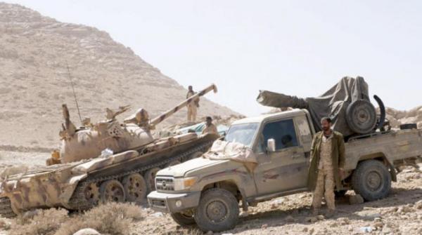 مقتل عدد من الحوثيين أثناء تمشيط القوات الحكومية للتحصينات والخنادق في وادي الفرع بكتاف صعدة