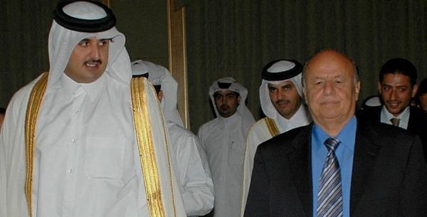 """حكومة المنفى تستهجن من الرياض """"الافتراءات السعودية"""" ضد قطر"""