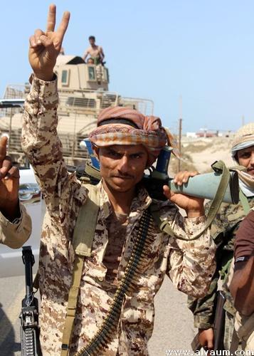 صعدة القوات الحكومية تسيطر على الخط الدولي الرابط بين مران والملاحيظ