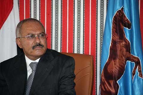 نص برقية الزوكا للزعيم علي عبدالله صالح