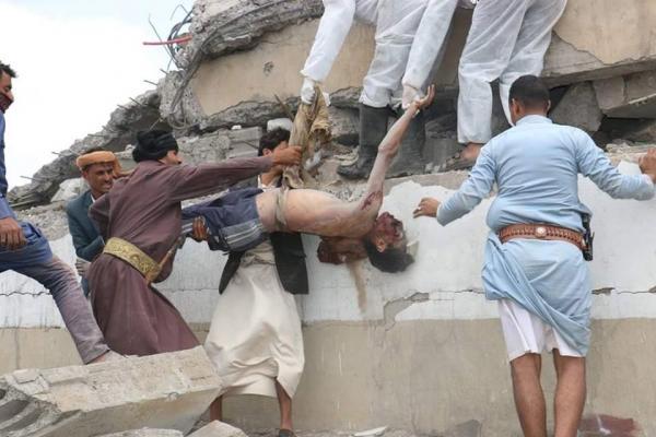 مركز حقوقي: استشهاد أكثر من 12 ألف مدني خلال 900 يوم من العدوان على اليمن