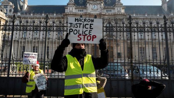 فرنسا: محتجو &#34السترات الصفراء&#34 يتظاهرون للسبت العاشر رغم بدء ماكرون &#34الحوار الوطني&#34