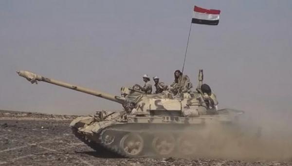 القوات الحكومية تسيطر على الخط الدولي الرابط بين مدينة صعدة والبقع
