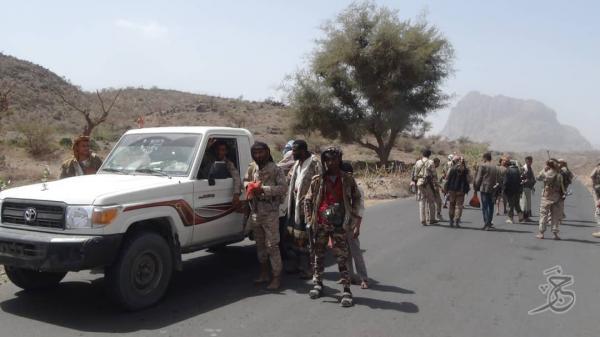 مقاومة الحشاء بالضالع تحرر مواقع جديدة واستشهاد ناشط حقوقي برصاص قناص حوثي