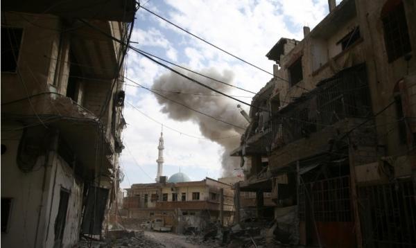الأمم المتحدة تدعو لهدنة لتجنب &#34مذبحة&#34 مع تواصل القصف في الغوطة الشرقية
