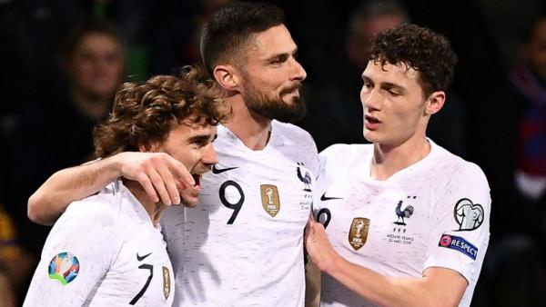 تصفيات كأس أوروبا 2020: فرنسا تحقق فوزا سهلا أمام مولدافيا 4-1