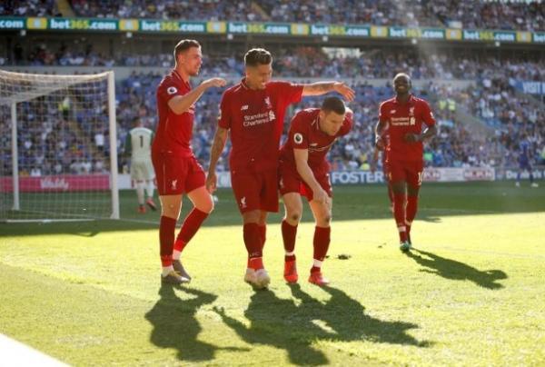 ليفربول يعود للصدارة بعد فوزه 2-صفر في كارديف
