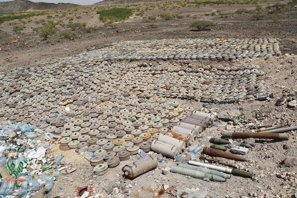 مسام يعلن انتزاع 1329 لغماً حوثياً في عدد من المحافظات اليمنية خلال أسبوع