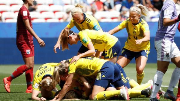 السويد والولايات المتحدة الأمريكية إلى ثمن نهائي مونديال السيدات لكرة القدم