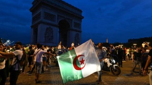 فرنسا: مقتل امرأة وأعمال شغب أثناء احتفالات جزائريين بالتأهل لنصف نهائي كأس الأمم الأفريقية