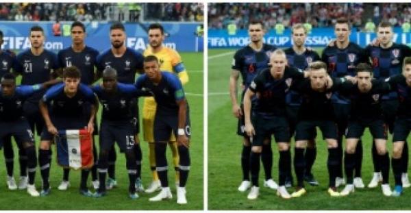 مونديال 2018: 3 مواجهات متوقعة في مباراة فرنسا وكرواتيا
