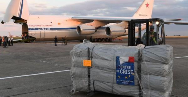 روسيا وفرنسا تقومان بعملية انسانية مشتركة للمرة الاولى في سوريا