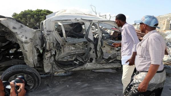 17 قتيلا على الأقل في انفجار سيارة مفخخة بالقرب من مطار مقديشو