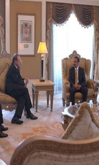 أحمد علي عبدالله صالح يلتقي نائب وزير الخارجية الروسية (تفاصيل)