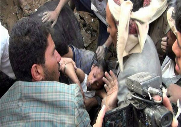 Saudi-Led Airstrike Kills And Injures 11 Civilians in Yemen Hajjah
