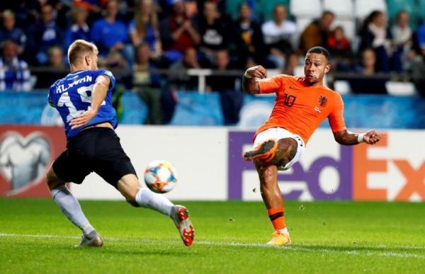 ثنائية بابل تقود هولندا للفوز 4-صفر على استونيا