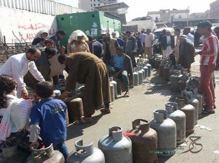 حكومة الانقاذ تعلن توفير مادة الغاز المنزلي دون تحديد سعره