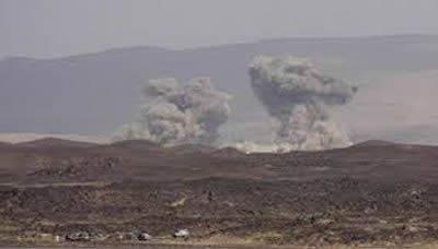 طيران العدوان يعاود استهداف سكن الزعيم صالح بحجة