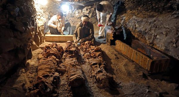 مصر: اكتشاف غير مسبوق لمنطقة صناعية فرعونية في وادي الملوك (فيديو)