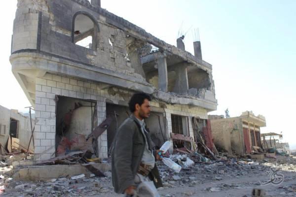 قصف صاروخي سعودي على رازح صعدة وقنابل عنقودية على حيدان