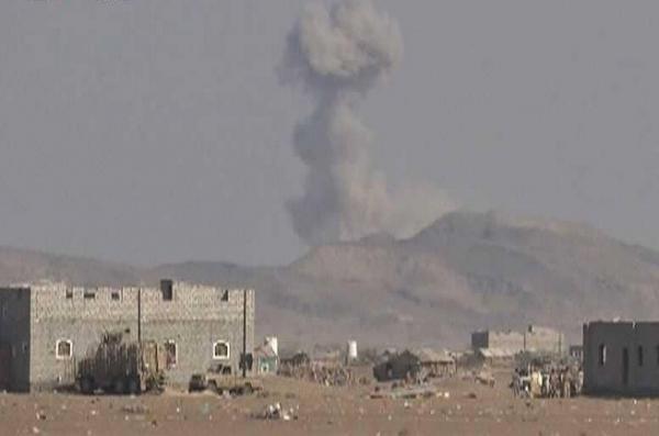 مقتل ثمانية من مليشيا الحوثي بغارات جوية استهدفت تجمعاً لهم شرقي صنعاء