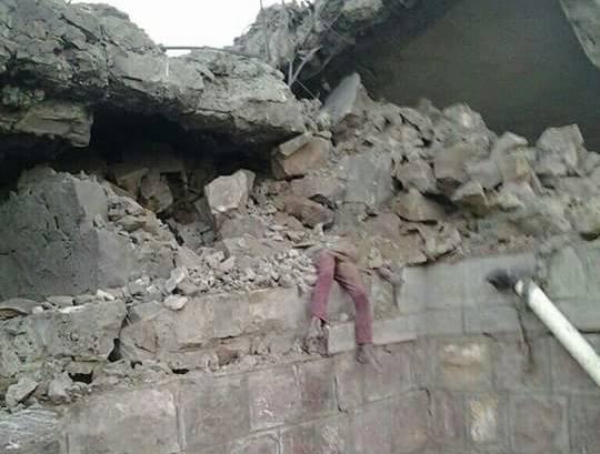 نعتذر لنشر الصور| ضحايا مجزرة الغارات السعودية على &#34الصلو&#34 في اليمن (+18)