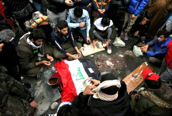 كتيبة الإعدام الإيرانية في ساحة الخلاني