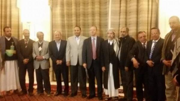 الأطراف اليمنية تتفق على استئناف نقاشات حل الأزمة الجمعة