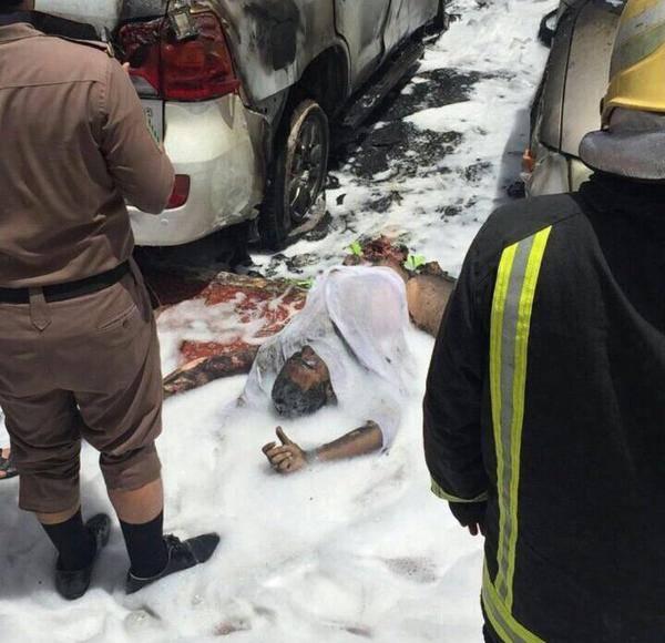 السعودية:4 شهداء في تفجير &#34انتحاري&#34 استهدف المصلين في &#34الدمام&#34.. (صورة)