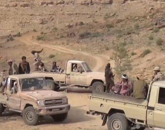 كسر هجوم حوثي باتجاه معسكر الجب بالضالع