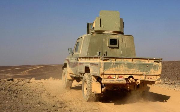 القوات الحكومية تستعيد مواقع بجبهة مأرب