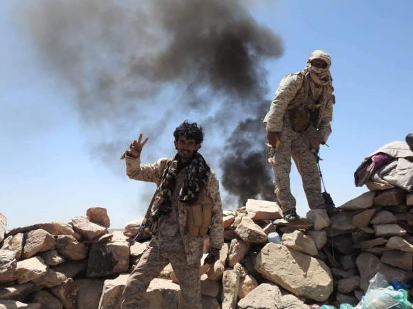 كسر هجوم حوثي في قانية بمحافظة البيضاء