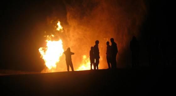 تفجير آبار نفطية شرق اليمن