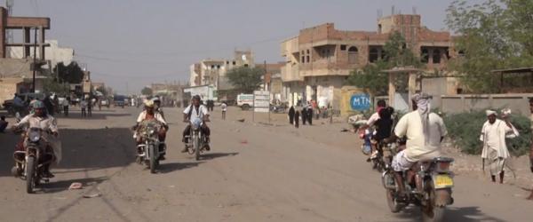 الحديدة.. مليشيا الحوثي تستهدف القرى السكنية في حيس
